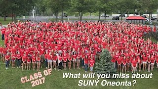 Class of 2017:  What will you miss about SUNY Oneonta?