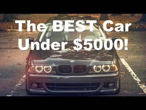 The BEST Cars Under 5000