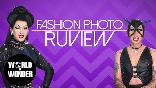 FASHION PHOTO RUVIEW: Season 7 Queens with Violet Chachki & Katya!