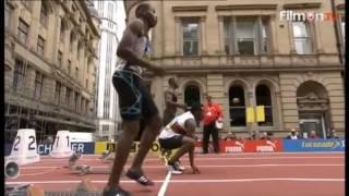 Great Citygames Manchester 2016 - Mens 150m Harry Aikines-Aryeetey 15.10