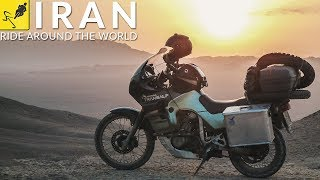 MOTORCYCLE TOUR Around the WORLD, Middle East - Iran!