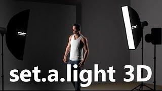 برنامج مفيد للمصورين فى توزيع الأضاءه :: set.a.light 3D