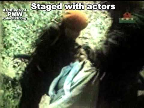 Palestinian Authority TV program libel: Israeli soldiers assault and murder