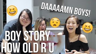MV REACTION | #BOYSTORY#《HOW OLD R U》MV ,Real!project第一弹