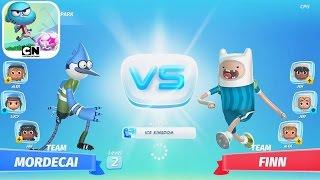 CN Superstar Soccer Goal #3 Mordecai VS Finn / Uncle Grandpa VS Steven
