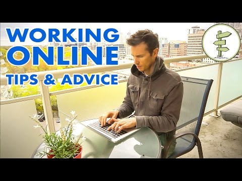 How To Start Working Online Tips & Advice for New Digital Nomads