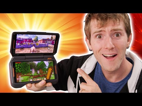 The ROG Phone Can Play TWO GAMES at Once