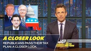 Republicans Pass Their Tax Plan: A Closer Look