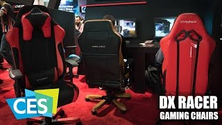 CES 2017: DX Racer Elite and Classic Series Gaming Chairs