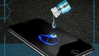 سائل النانو لحماية شاشة الموبيل  بعد التجربة وداعا للاسكرينة |  Show Nano  liquidscreen protector