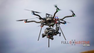 Flying the Blackmagic Ursa Mini on Freefly Alta with Movi M10 - BTS