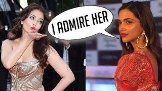 Deepika Padukone On Meeting Aishwarya Rai Bachchan At Cannes 2017