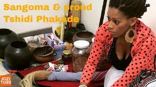 Generations the legacy's Tshidi Phakade is a Sangoma