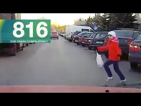 watch Car Crashes Compilation 816 - November 2016