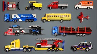 Street Vehicles | toys for kids | teach vehicles to children