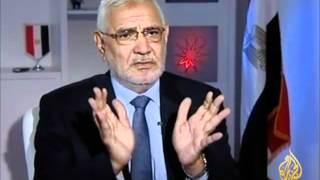مصر سباق الرئاسة - عبد المنعم أبو الفتوح