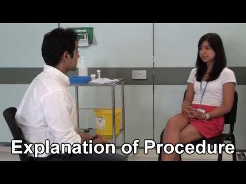 Bimanual Vaginal examination