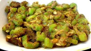 ঝিংগা সুকত রান্না - সহজ সনাতনী নিরামিষ রান্নার রেসিপি - Bangladeshi Recipe Jhinga Shukot Ranna
