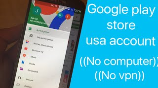 Change your Google play store account to usa (no vpn)(no computer)