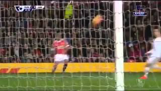 Anthony Martial goal Manchester United vs Swansea 2-1 2016