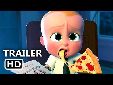 THE BOSS BABY Official Movie Clip Trailer 2017 Animation Movie HD