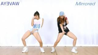 (Mirrored) 방탄소년단 쩔어 거울모드 BTS DOPE- WAVEYA