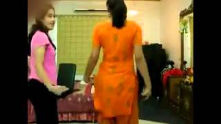 Indian College Girls in Hostel room hot dance
