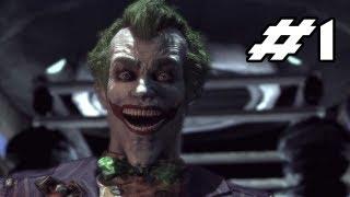 BATMAN Arkham Asylum Gameplay Walkthrough - Part 1 - Welcome to the Madhouse  (Let's Play)