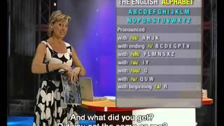 English Today Beginner Level 1.9 the English alphabet and numbers