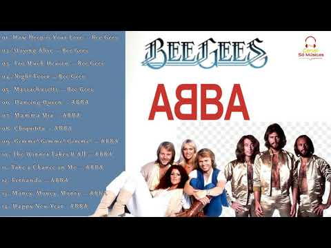 Abba e Bee Gees As Melhores 🎵
