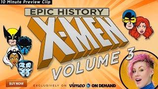 10m Preview Clip - Epic History X-Men Volume 3: The Dark Phoenix Saga.  Only on Vimeo on Demand