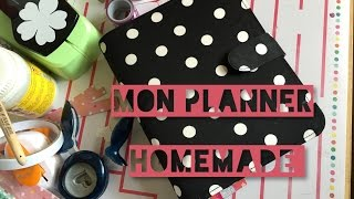 MON NOUVEAU PLANNER HOMEMADE