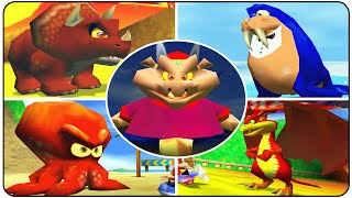 Diddy Kong Racing - All Bosses