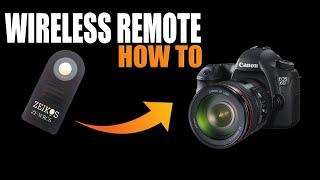 wireless remote for canon