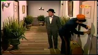 CHESPIRITO 1984- El Gordo y El Flaco- Todos caben en un cuartito sabiéndolos acomodar- parte 1