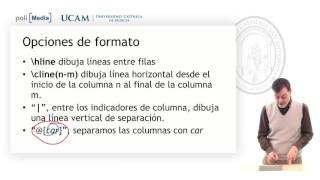 Introducción a la escritura de textos científicos con LaTeX - Tablas de LaTeX - Jesús Soto