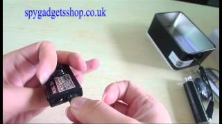 How To Use HD Mini Camera 1280 * 960 Mini DV with Video and Audio Recording Function