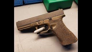 Stippling Glock 17