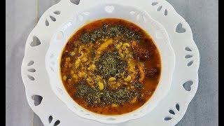 طرز تهیه آش آلوچه آذری، ملس، وگان و خوشمزه | Turkish Dried Plum Soup/Vegan - Eng Subs