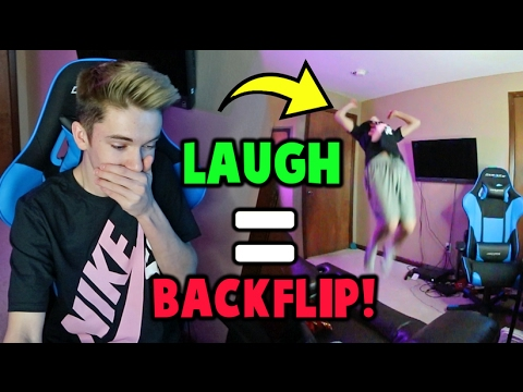 TRY NOT TO LAUGH CHALLENGE BACKFLIP EDITION