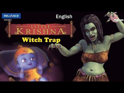 Little Krishna English - Episode 13 Witch Trap