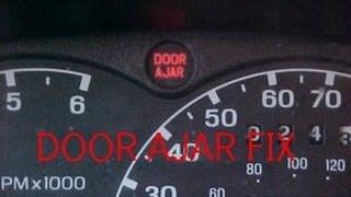SOLVED: Door ajar light stay on? Troubleshooting tip! Ford Explorer