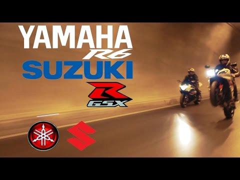 Yamaha R6 Suzuki GSXR 1000 (tünel) Trailer
