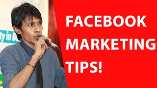 Facebook Marketing Tutorial: Step by Step Facebook Marketing Tips And Tricks