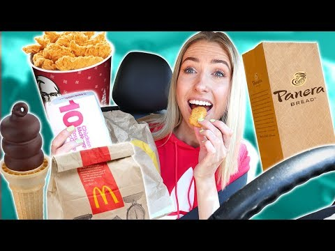 Letting The Person In Front of Me DECIDE What I Eat CHALLENGE Mini Mukbang