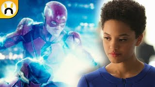 Kiersey Clemons Iris West CUT from Justice League
