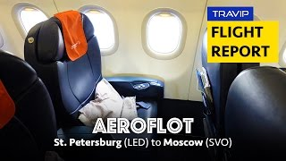 Aeroflot Review: St. Petersburg to Moscow