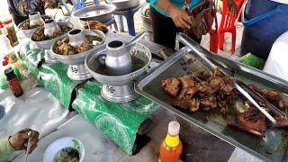 ข้าวแกงโตนเลสาบกำปงชนังถูกและอร่อย Tonle Sab Rice and Curry Food