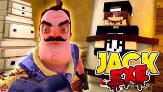 Minecraft Adventure - HELLO NEIGHBOUR CREATES JACK .EXE