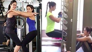 Katrina Kaif's HOT Workout For Tiger Zinda Hai